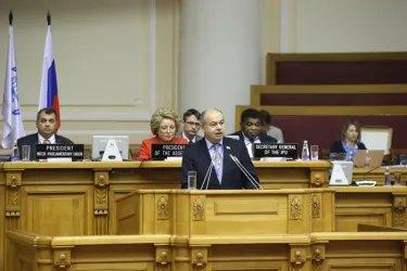 Принятие резолюции «К 20-летию принятия Всеобщей декларации о демократии: общность нашего разнообразия»