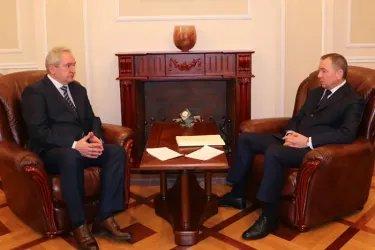 Встреча с Министром иностранных дел Республики Беларусь Владимиром Макеем