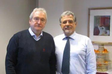 Встреча с Генеральным секретарем ПАС Серджо Пьяцци