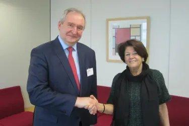 Встреча с Председателем Комитета ПА СЕ по политическим вопросам и демократии Риа Оомен-Рюйтен