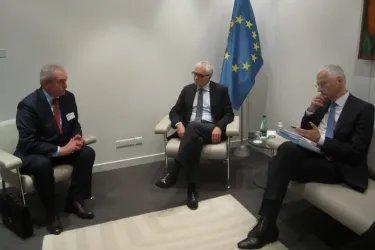 Встреча с Председателем ПА СЕ Микеле Николетти