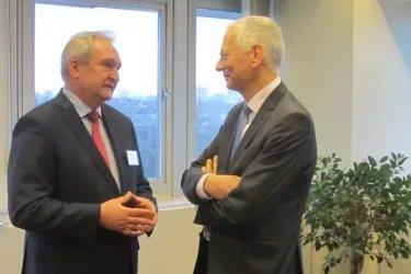 Встреча с Генеральным секретарем ПА СЕ Войцехом Савицки