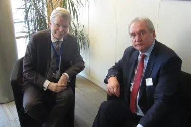 Встреча с Секретарем Венецианской комиссии Томасом Маркертом