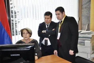 Встреча наблюдателей с председателями территориальных избирательных комиссий Петрозаводска