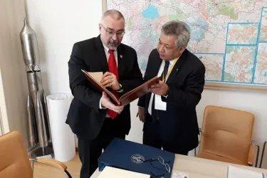 Встреча с руководителем Администрации Губернатора Новгородской области Сергеем Сорокиным