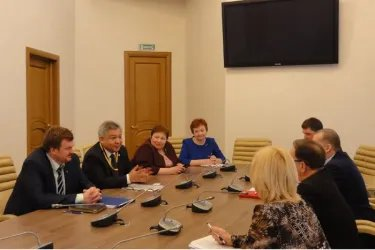 Встреча с представителями Общественной палаты Новгородской области