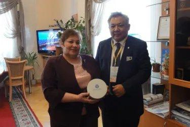 Встреча с Председателем Избирательной комиссии Новгородской области Татьяной Лебедевой