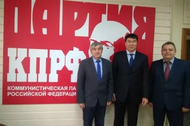 Исламбек Мурсабеков в Новосибирском отделении КПРФ
