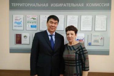 Посещение территориальных избирательных комиссий Кировского и Заельцовского районов Новосибирска
