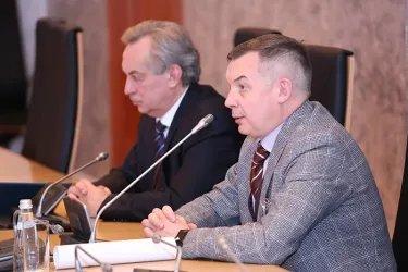 Встреча наблюдателей от МПА СНГ с Максимом Кабановым