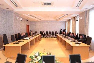 Встреча наблюдателей от МПА СНГ с Константином Серовым
