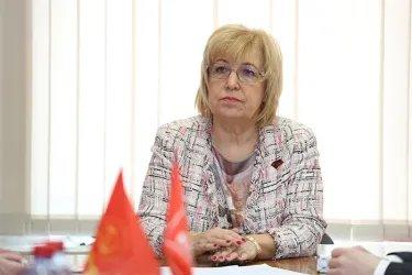 Встреча в избирательном штабе кандидата на должность Президента РФ Павла Грудинина