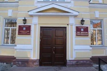 Посещение ТИК Гатчинского района Ленинградской области