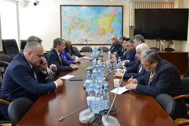 Встреча с представителями избирательного штаба Павла Грудинина