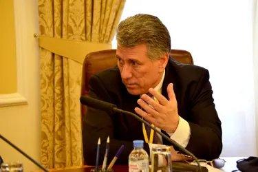 Встреча с Председателем Москизбирком Валентином Горбуновым