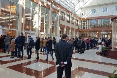 Наблюдение на зарубежных избирательных участках в Минске