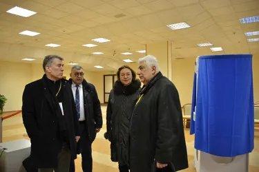 Координатор группы от МПА СНГ на избирательных участках