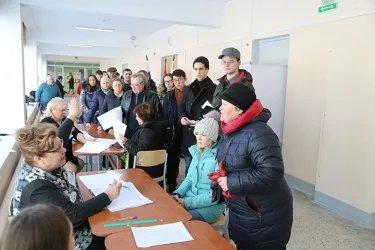 Представитель координатора группы наблюдателей от МПА СНГ в СПб на избирательных участках