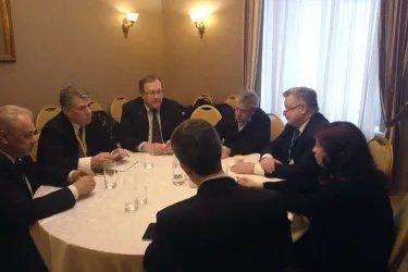Встреча со специальным координатором ОБСЕ Майклом  Линком и главой делегации ПА ОБСЕ Мариеттой Тидей