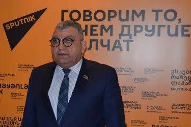 Рауф Алиев в эфире радиостанции Sputnik