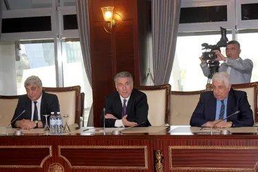 Встреча наблюдателей от МПА СНГ с Зияфатом Аскеровым
