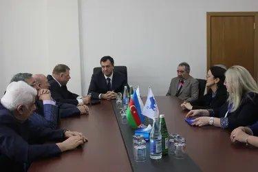 Встреча с кандидатом на должность Президента Азербайджанской Республики Гудратом Гасангулиевым
