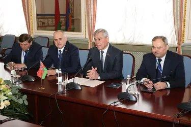 Встреча Владимира Андрейченко с Арой Баблояном