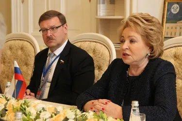 Встреча Валентины Матвиенко с Гульшат Маммедовой