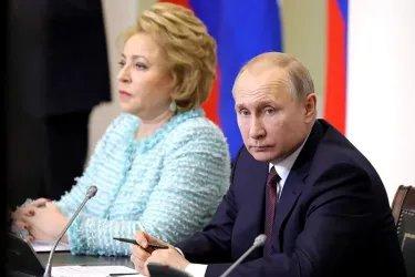 Встреча Владимира Путина с членами Совета законодателей