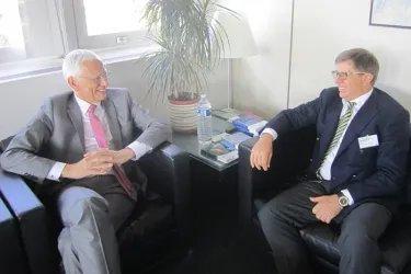 Юрий Осипов встретился с Генеральным секретарем ПА СЕ Войцехом Савицки