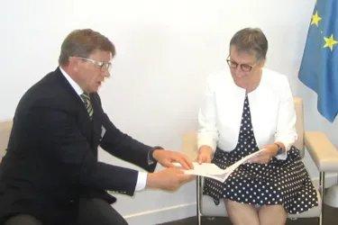 Юрий Осипов встретился с новым Председателем ПА СЕ Лилиан Мори Паскье