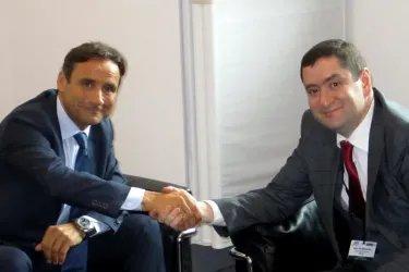 Айк Чилингарян встретился с Генеральным секретарем ПА ОБСЕ Роберто Монтеллой