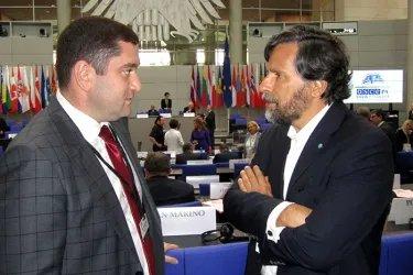 Айк Чилингарян встретился с Председателем ПАС Педро Роке