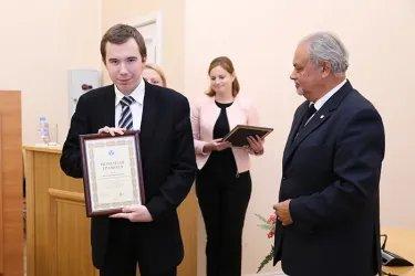 Победители дебатов - команда Санкт-Петербургского государственного университета