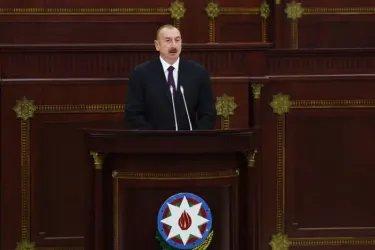Выступление Президента Азербайджанской Республики господина Ильхама Алиева