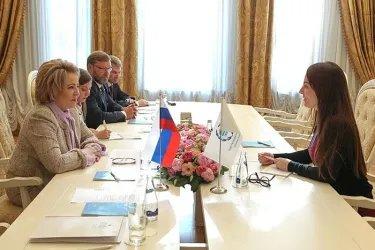 Двусторонняя встреча с Габриэлой Куэвас Баррон