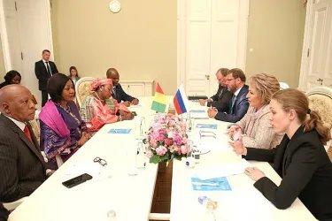 Двусторонняя встреча с Джене Кабо Конде