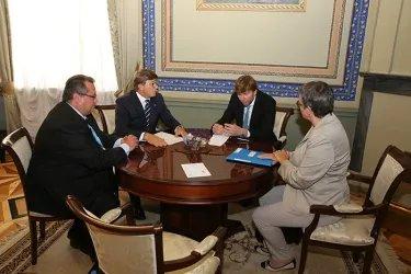 Двусторонняя встреча Юрия Осипова с Лилиан Мори Паскье