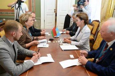 Встреча делегаций Республики Беларусь и Республики Казахстан