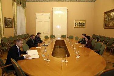Встреча делегации Кыргызской Республики с Константином Косачевым
