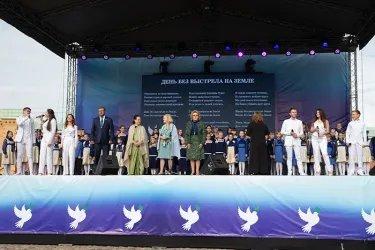Акция, посвященная Международному дню мира