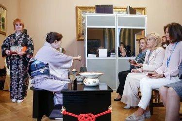 Чайная церемония «Россия – Япония диалог культур»