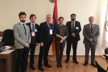 Встреча с представителем избирательного штаба блока «Мой шаг» Леной Назарян