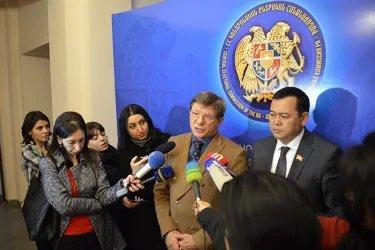 Встреча с Председателем ЦИК Республики Армения Тиграном Мукучяном