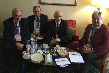 Встреча с главой Миссии наблюдателей БДИПЧ ОБСЕ послом Уршулой Гачек
