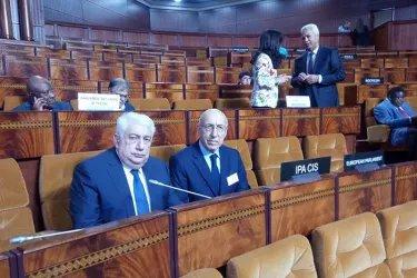 Ариф Рагимзаде и Айдын Джафаров на конференции