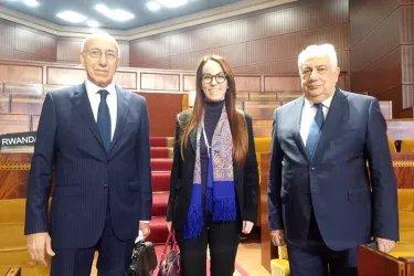 Встреча с Председателем МПС Габриелой Баррон