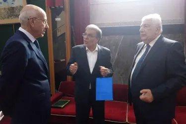 Встреча с заместителем Генерального секретаря ПСОИС Али Ашгаром Мохаммади Сиджани