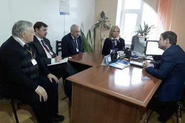 Встреча с Председателем ЦИК АТО Гагаузия Иваном Комуром