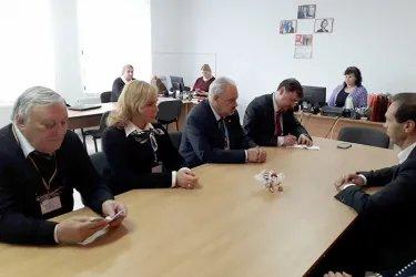 Встреча с депутатом Парламента Республика Молдова Федором Гагаузом